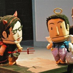 Devil and Angel Puppets