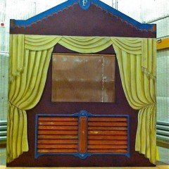 Painted Puppet Theater Flat